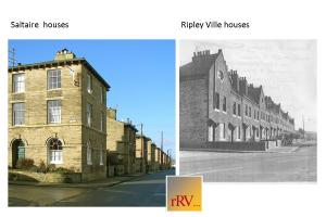 Saltaire and Ripley Ville houses
